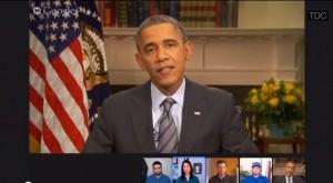 Obama Google Hangout On Air